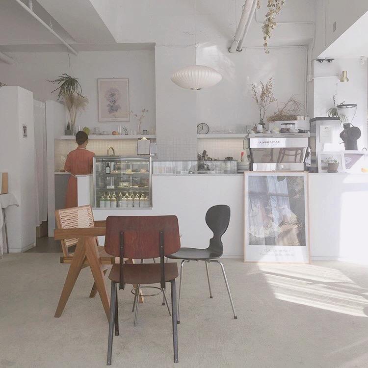 カフェ内の雰囲気