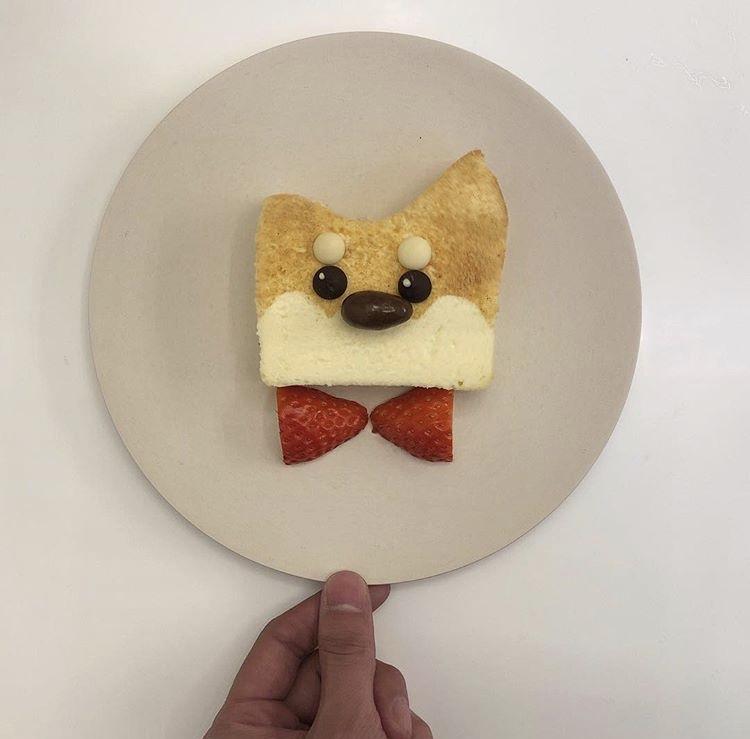 柴犬 ケーキ