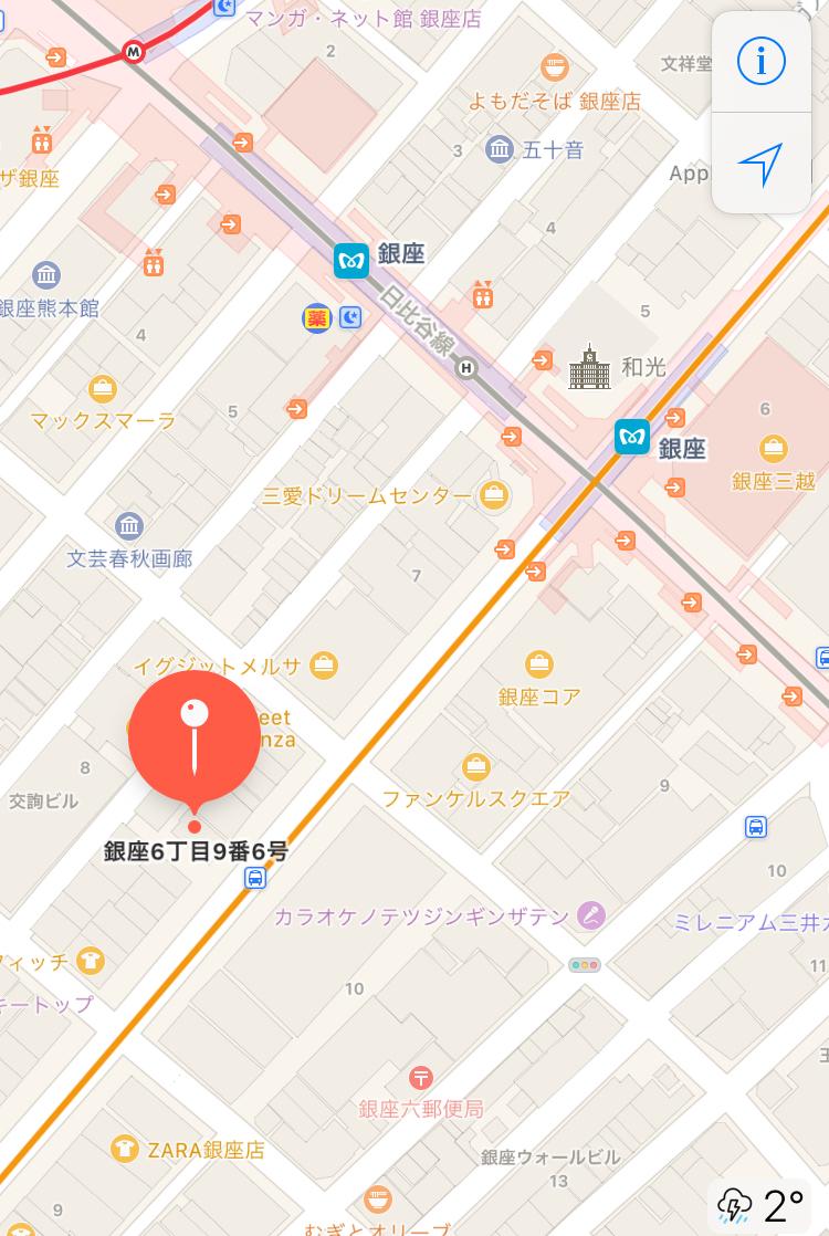 美容室MAP