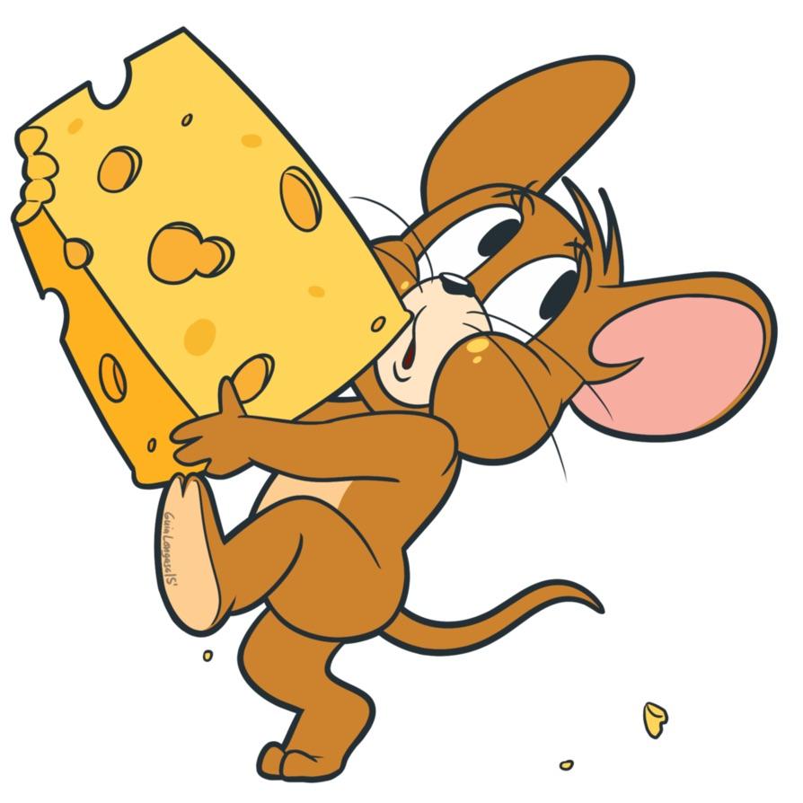 アニメ内 トムとジェリーのチーズケーキ