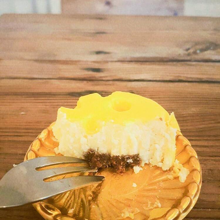 チーズケーキの構造