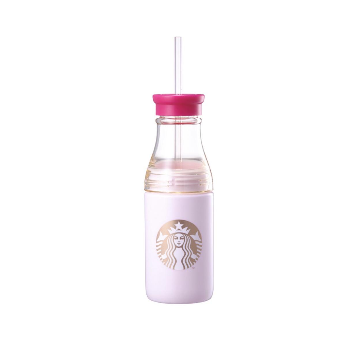 バレンタインピンク サニーストロー ウォーターボトル