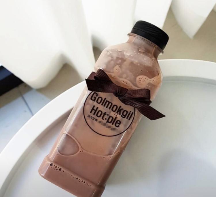チョコ牛乳