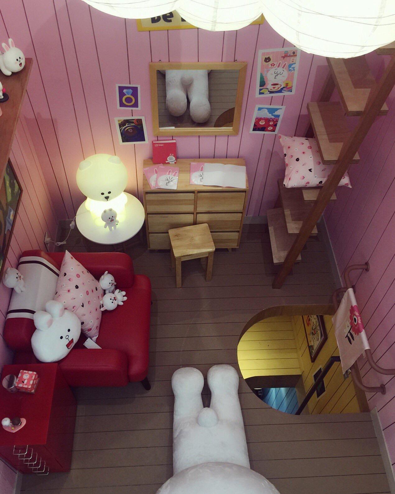コニーの部屋