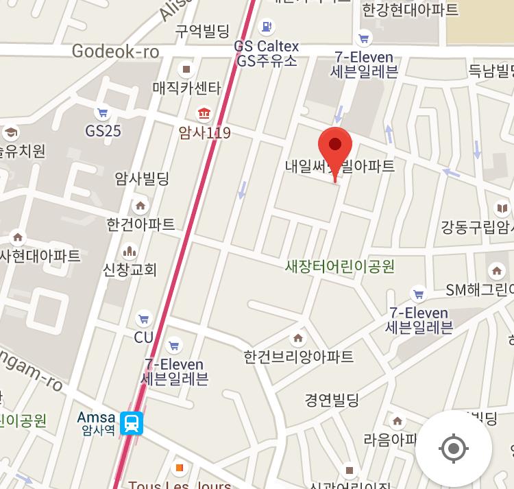 SOMSOM bakery地図