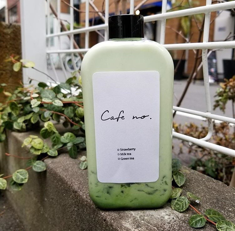 cafe no. green tea milk