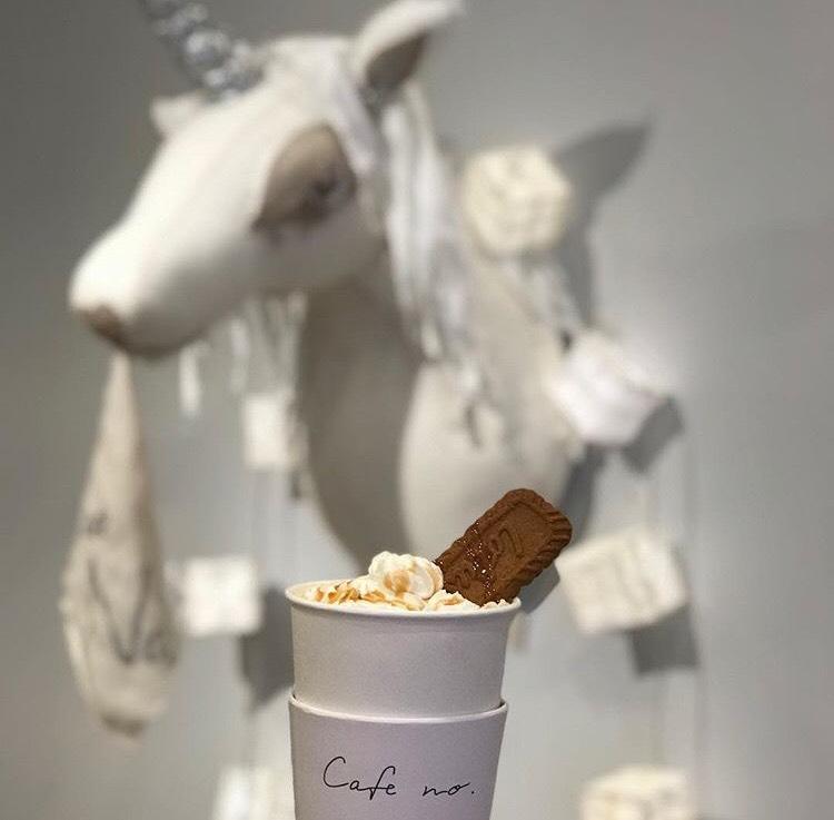 cafe no. lotus caramel latte