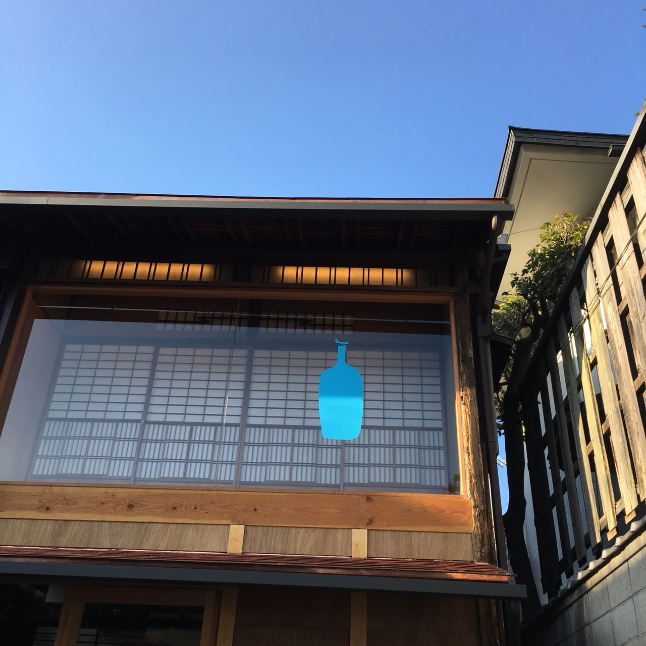 blue bottle coffee京都