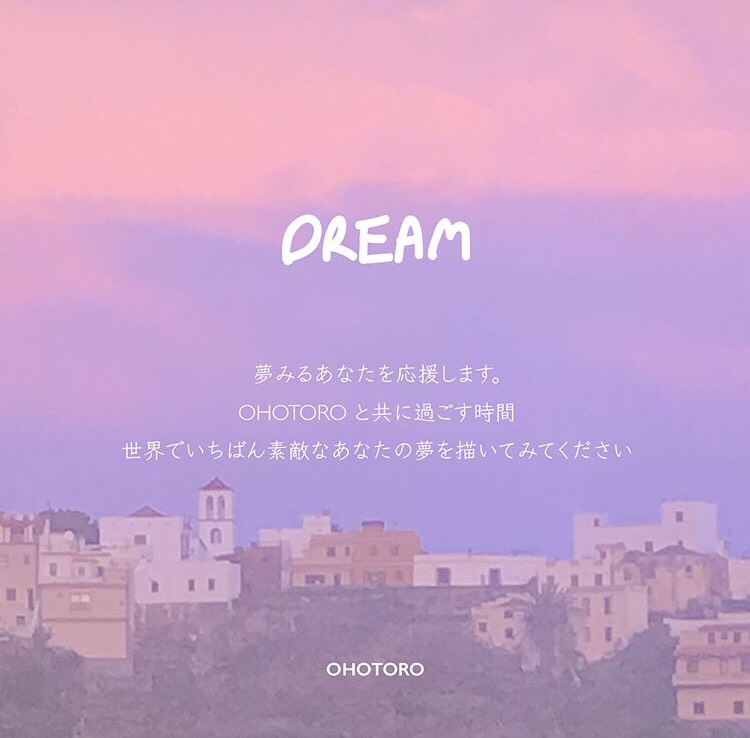 ohotoro popup DREAM