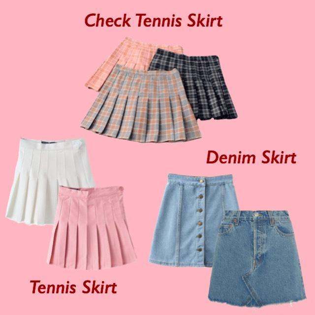 韓国ファッション スカート