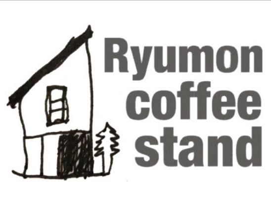 Ryumon coffee stand ロゴマーク