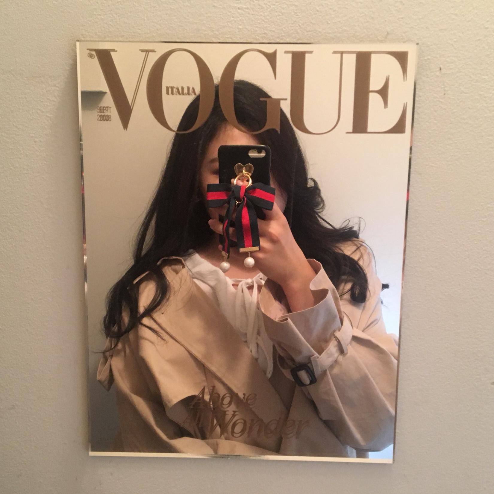 VOGUE 鏡 セルカ