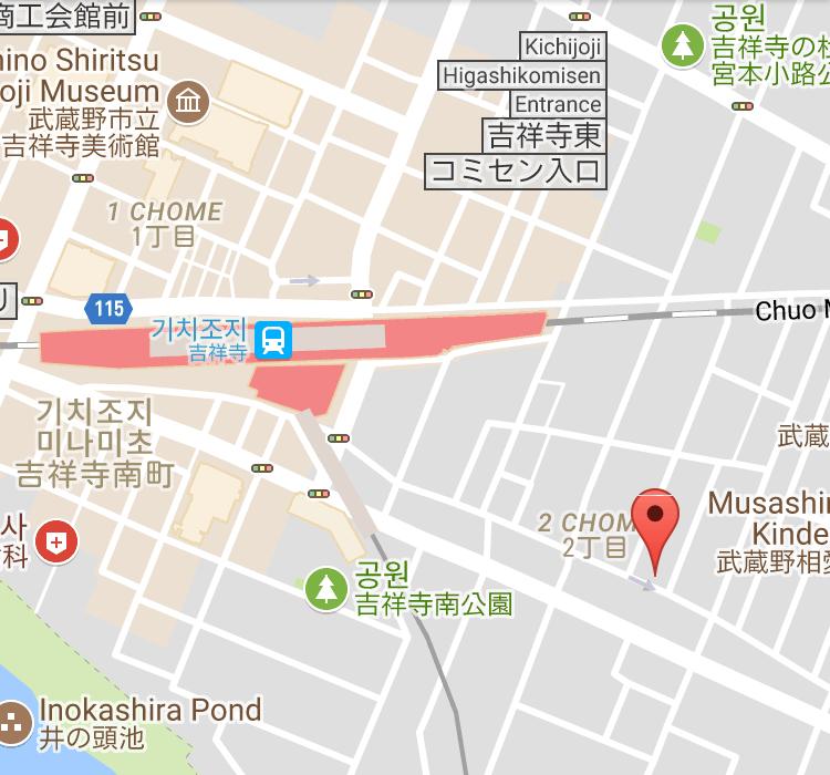 Ryumon coffee stand 地図