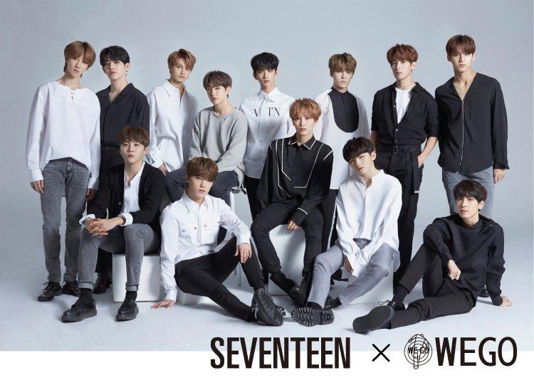 SEVENTEEN×WEGO