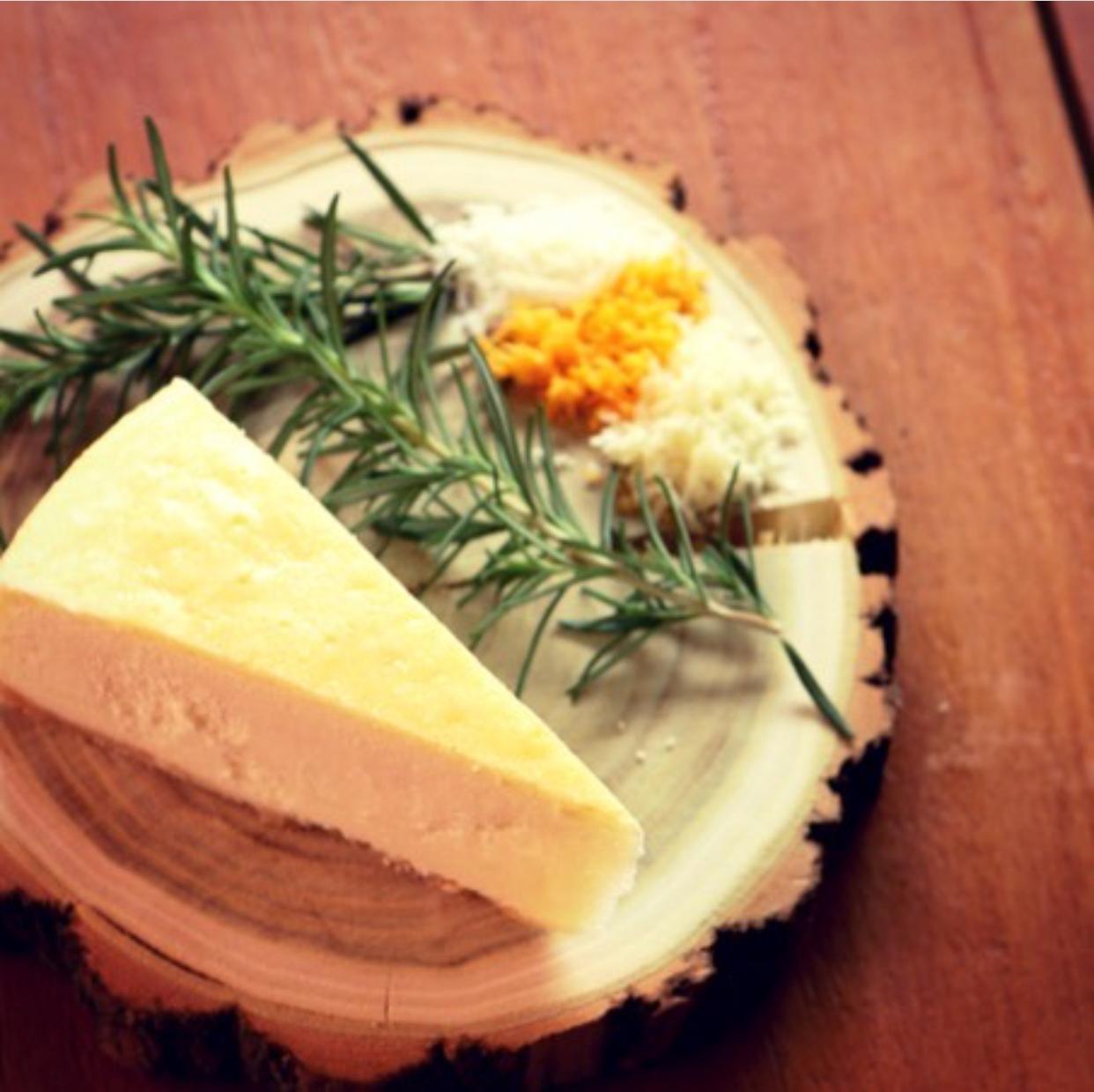 チーズ添え