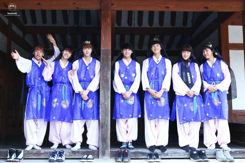BTS韓服2