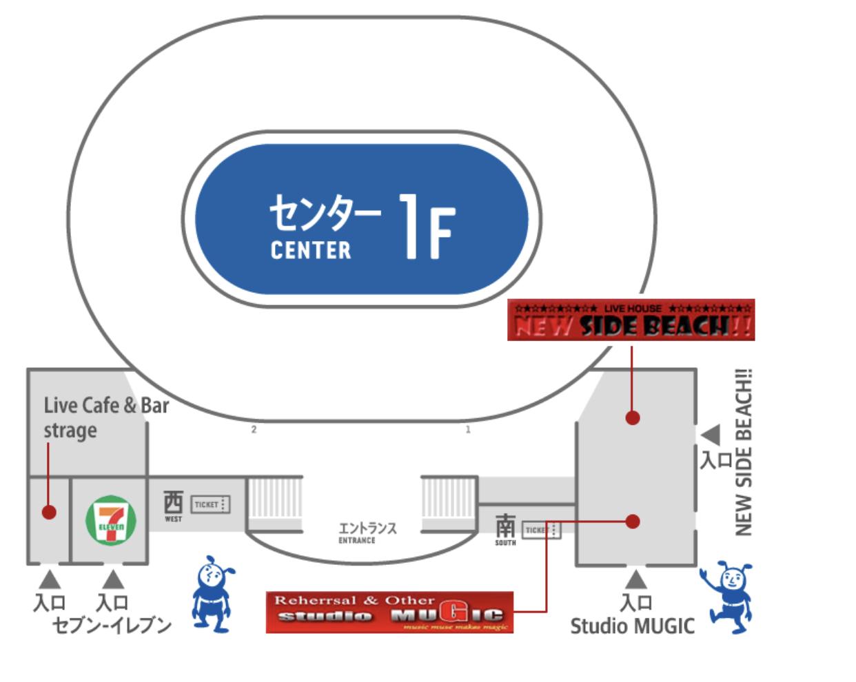 横浜アリーナコンビニ情報