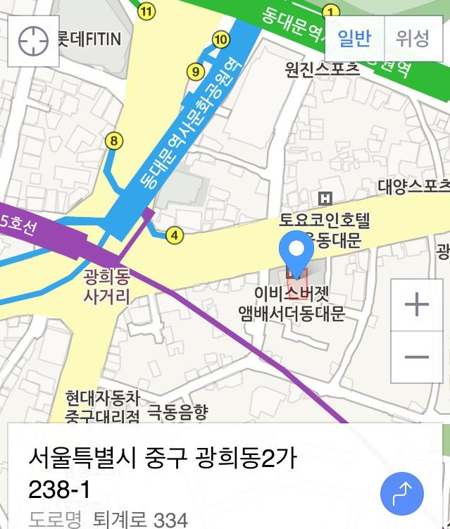 イビスホテル地図