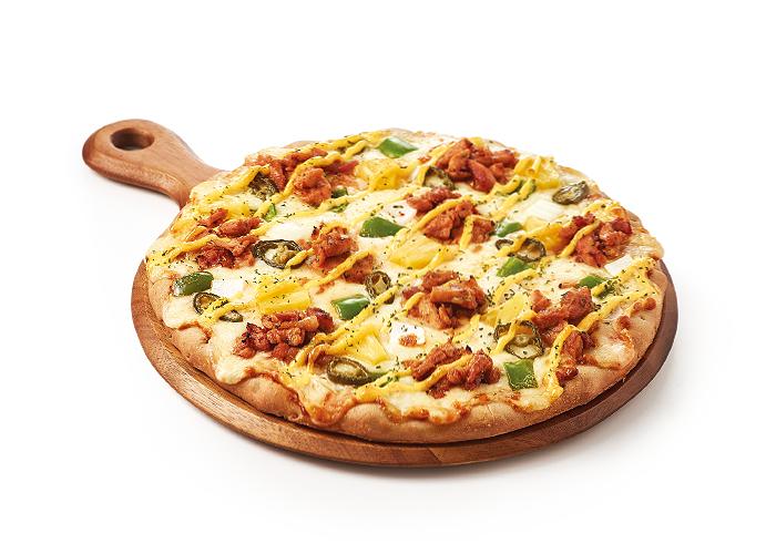 바베큐치킨 볼케이노 피자