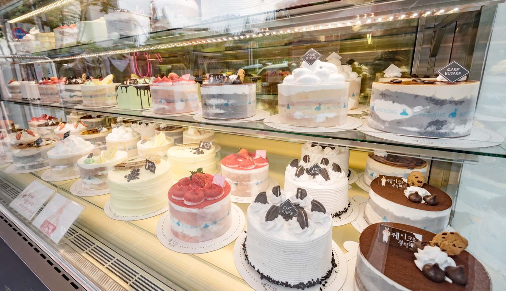 케이크를 부탁해의 케이크들