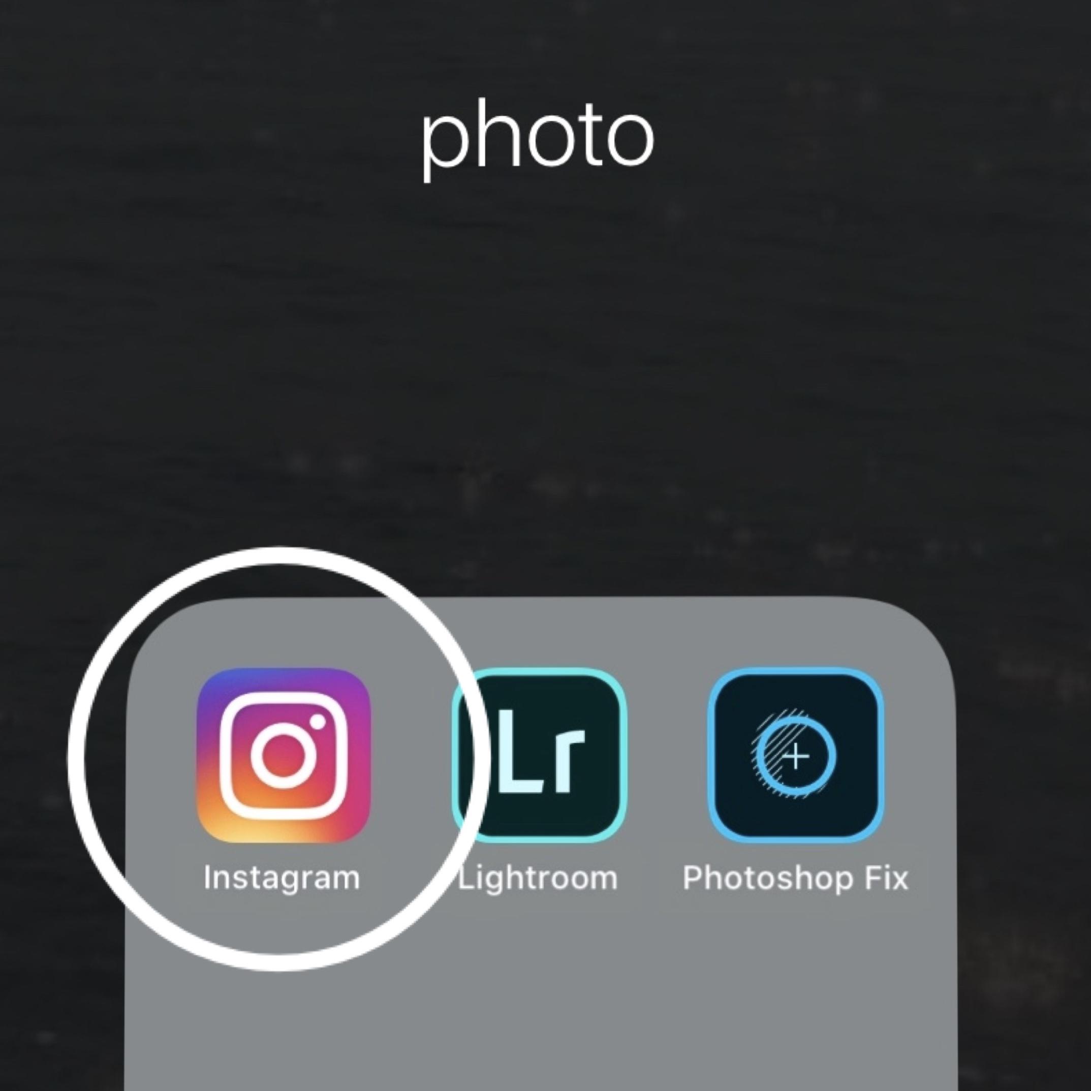 インスタグラムアプリ
