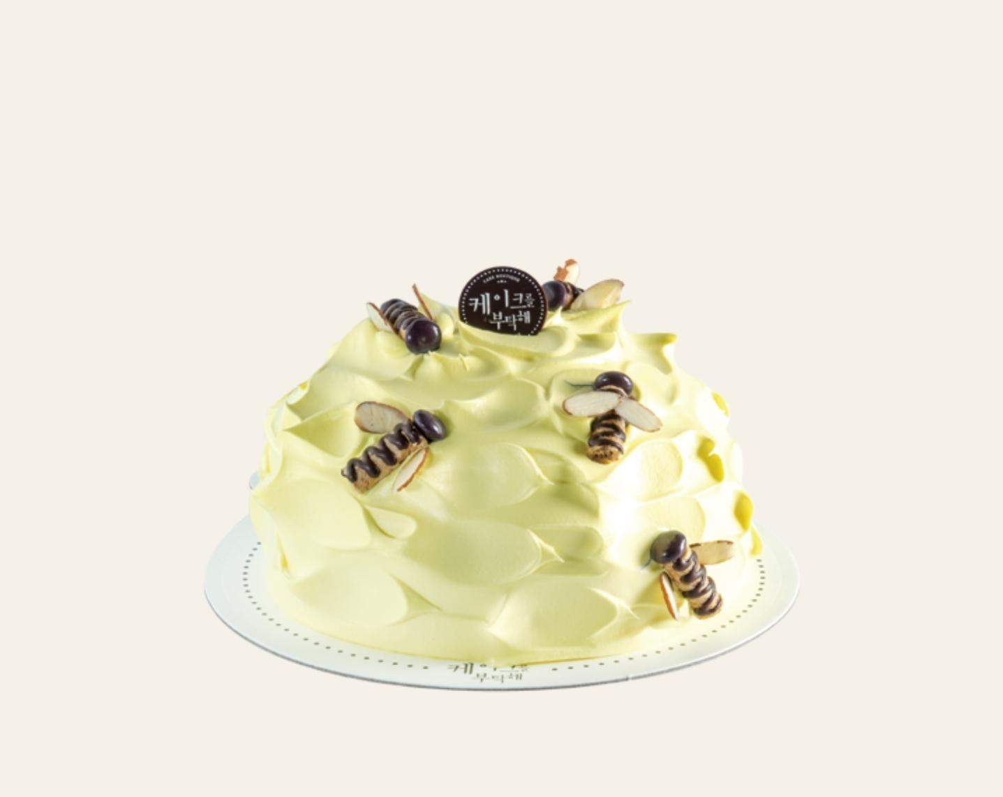 꿀바나나 케이크