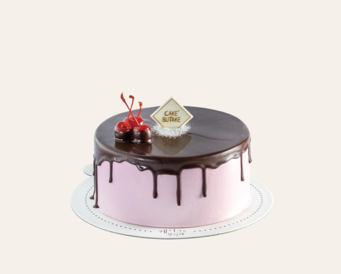 체리초코(아이싱) 케이크