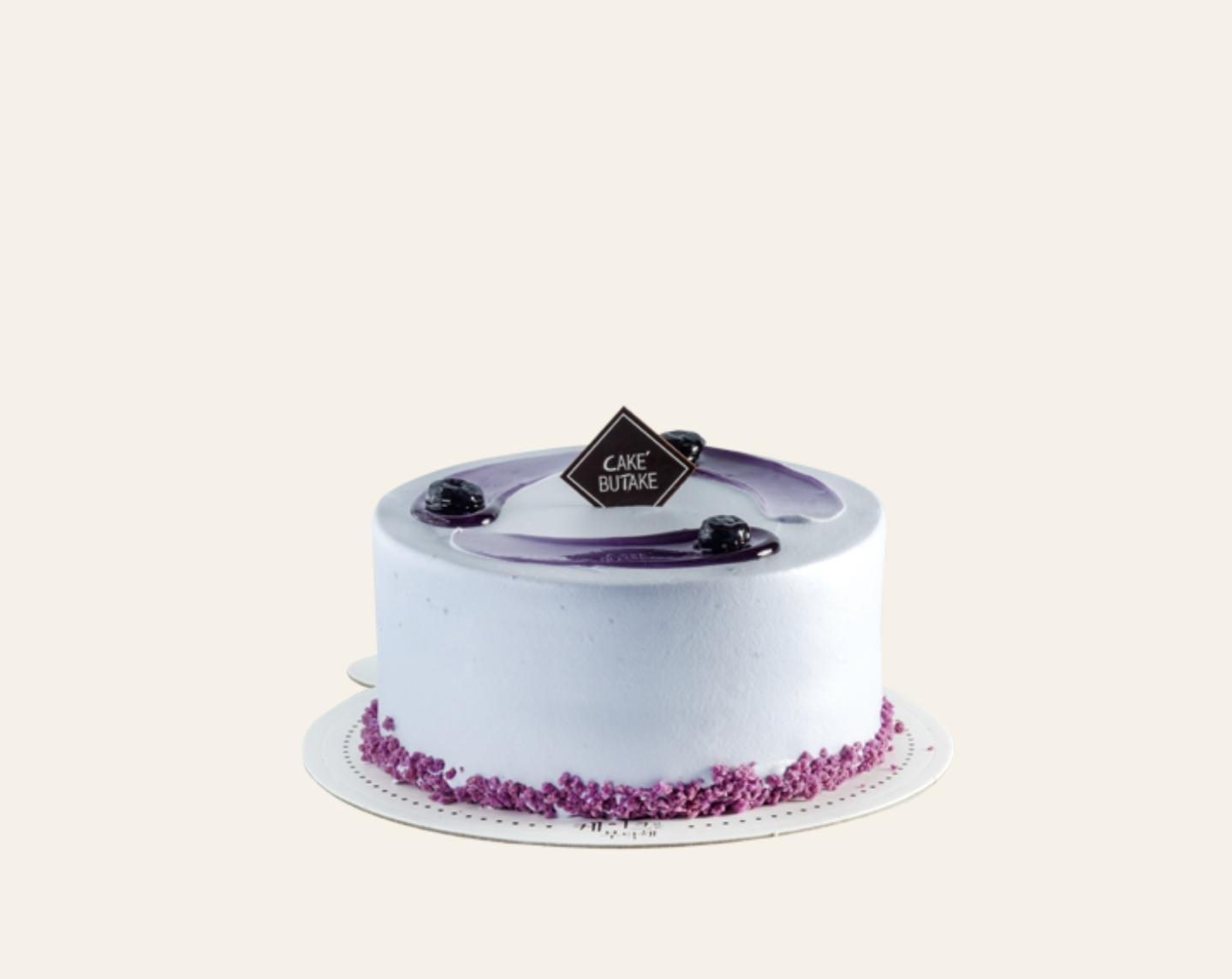 블루베리 케이크