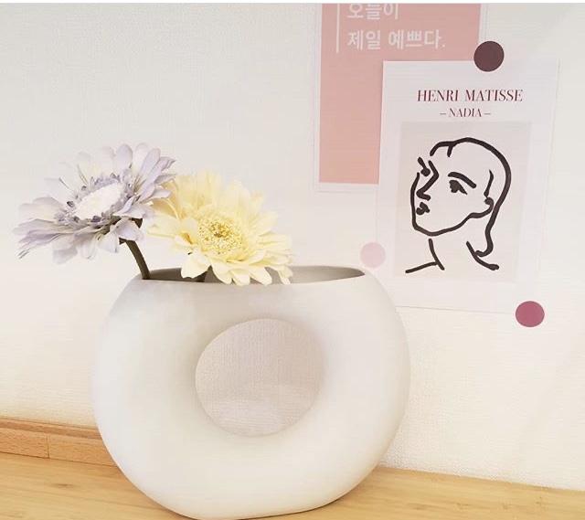 花瓶+ポストカード