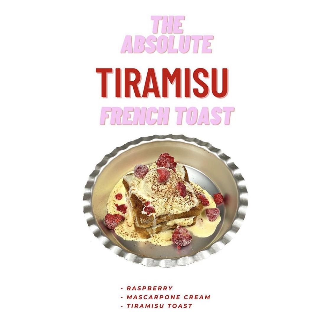THE ABSOLUTE TIRAMISU FRENCH TOAST