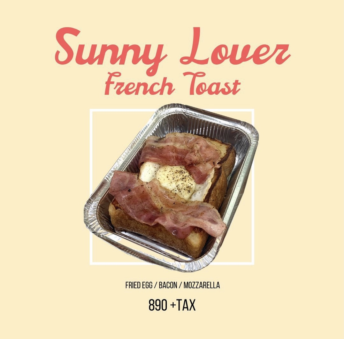 Sunny Lover french toast