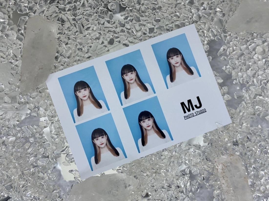 韓国式証明写真