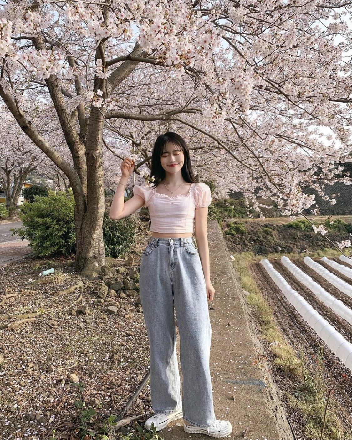 桜ショット