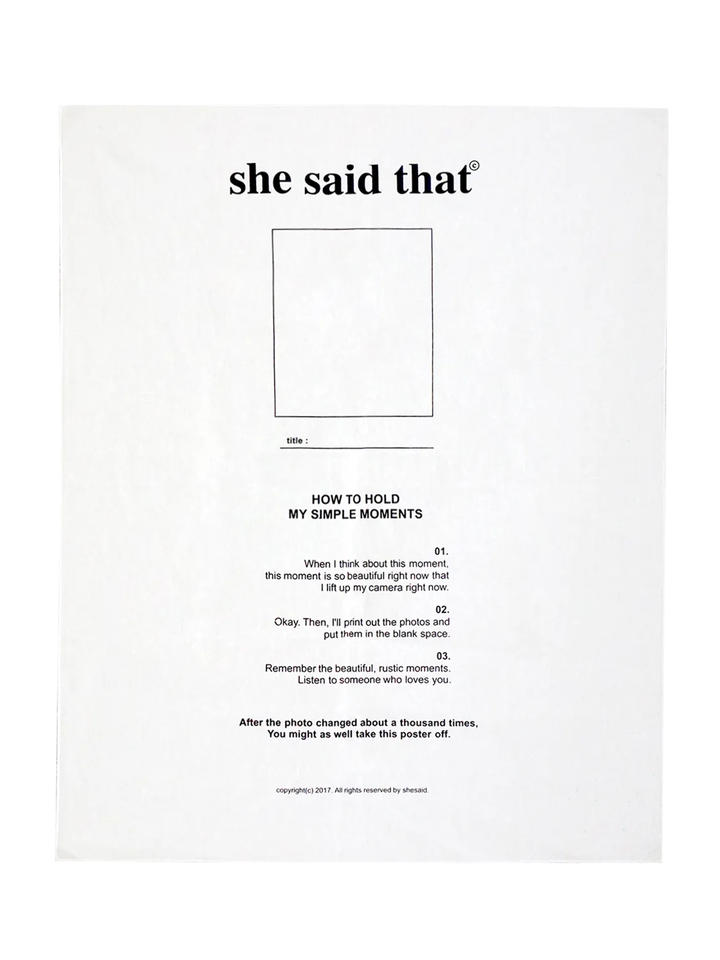 ファブリックポスター